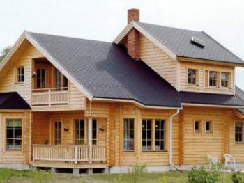 Деревянный дом красив и надёжен