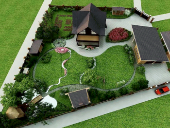 Благоустройство территории ландшафный дизайн