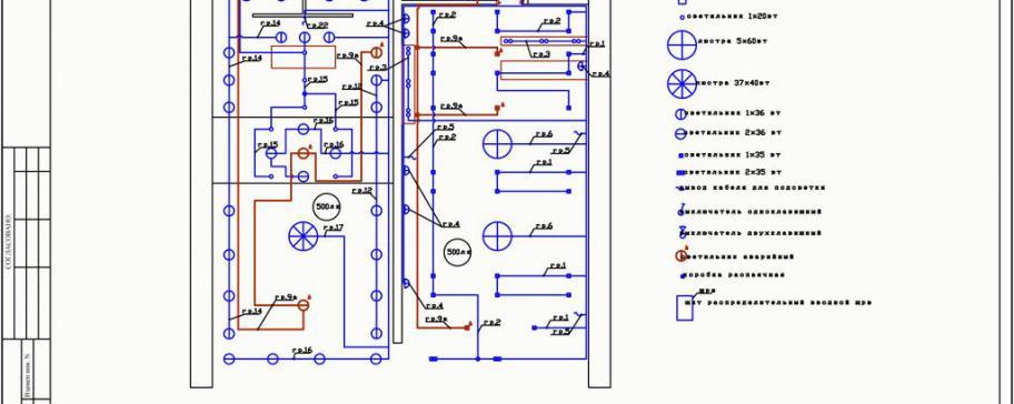 Электрический проект