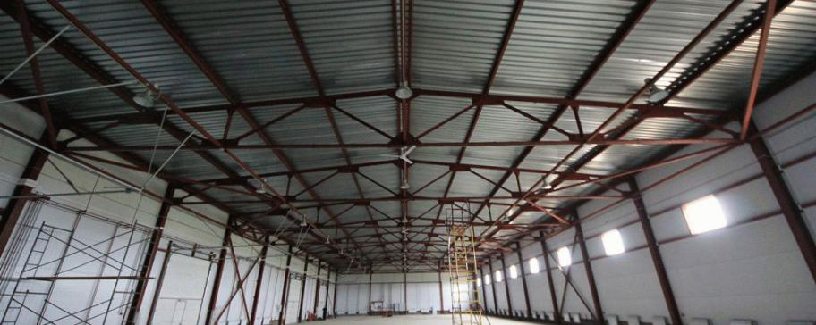 Ремон склада, ангара